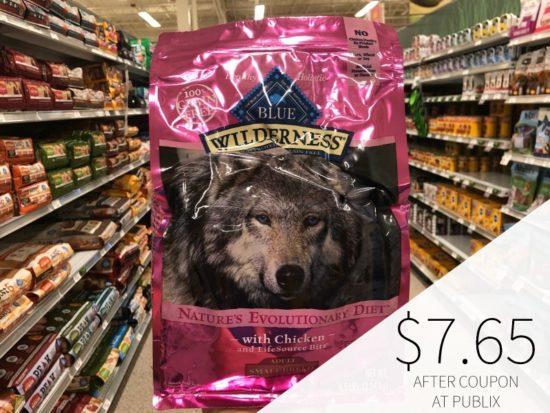 Blue Wilderness Adult Dog Food - Just $7.65 At Publix (Reg $23.29) on I Heart Publix 1