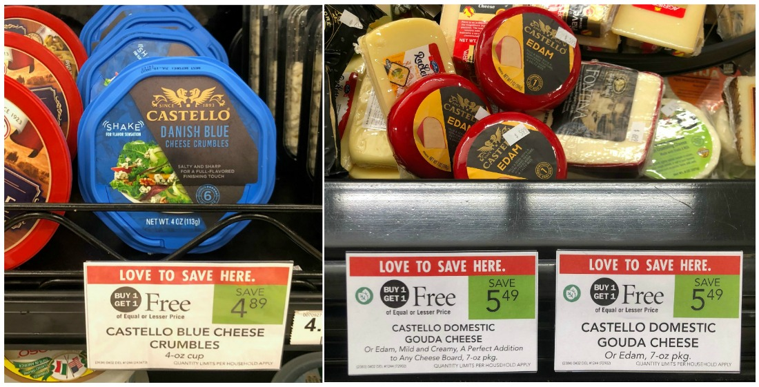 Castello Cheese Deals - Blue Cheese Crumbles Just $1.45 on I Heart Publix