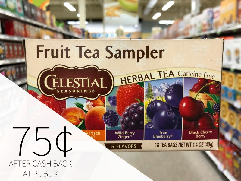 New Celestial Seasonings Tea Ibotta Makes Boxes As Low As 75¢ At Publix on I Heart Publix 1