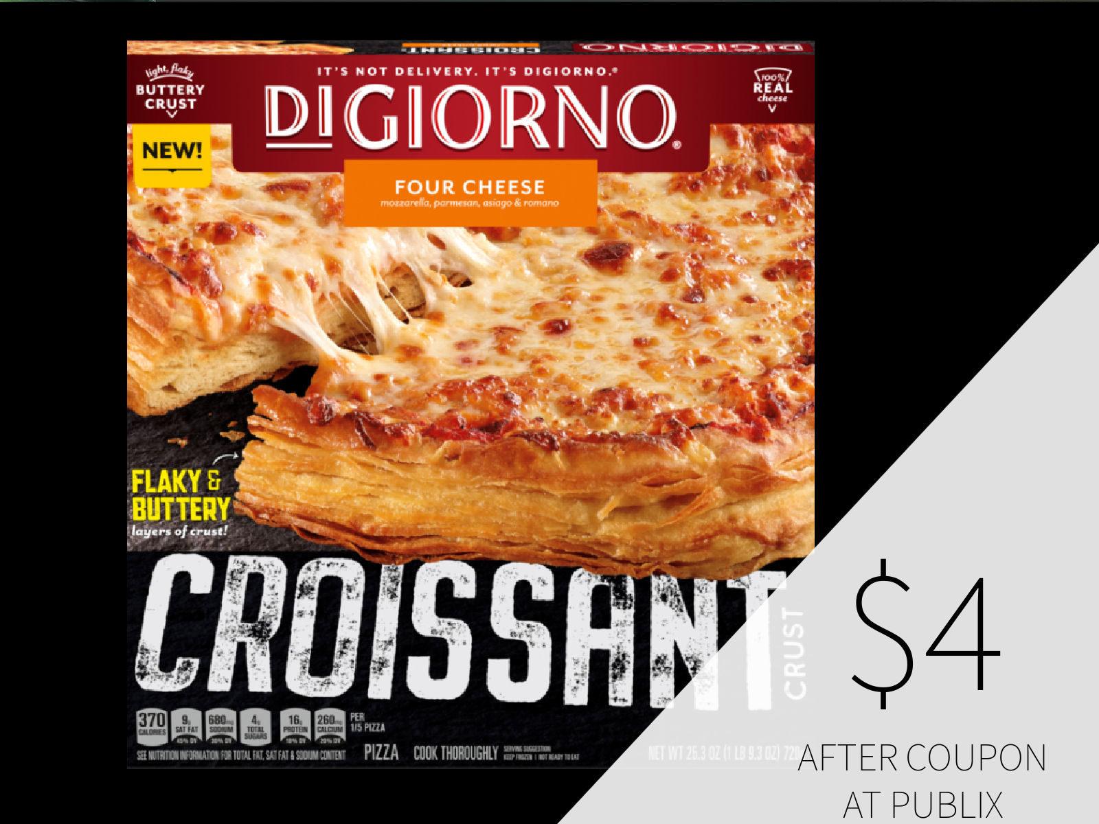 Croissant Crust DIGIORNO® Pizza Just $4 At Publix on I Heart Publix