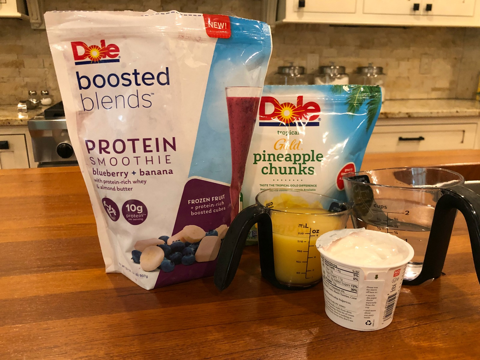 Enjoy My Protein-Packed Berry Pineapple Swirled Smoothie on I Heart Publix 2