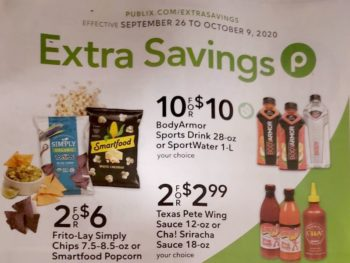 Publix Extra Savings Flyer Valid 9/26 to 10/9 on I Heart Publix