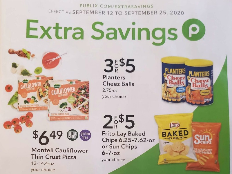 Publix Extra Savings Flyer Valid 9/12 to 9/25 on I Heart Publix