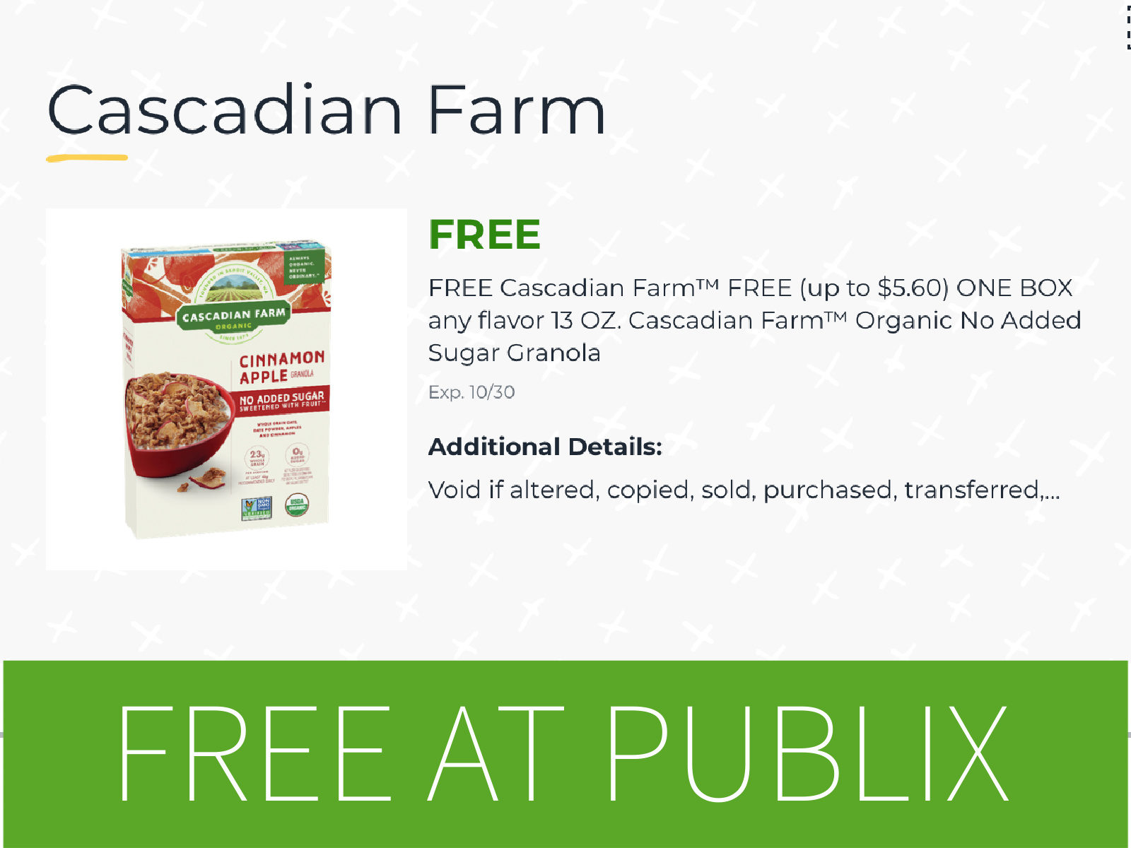 Lots Of Freebies At Publix - Ratio, Goodbelly, Old El Paso & Betty Crocker on I Heart Publix 3
