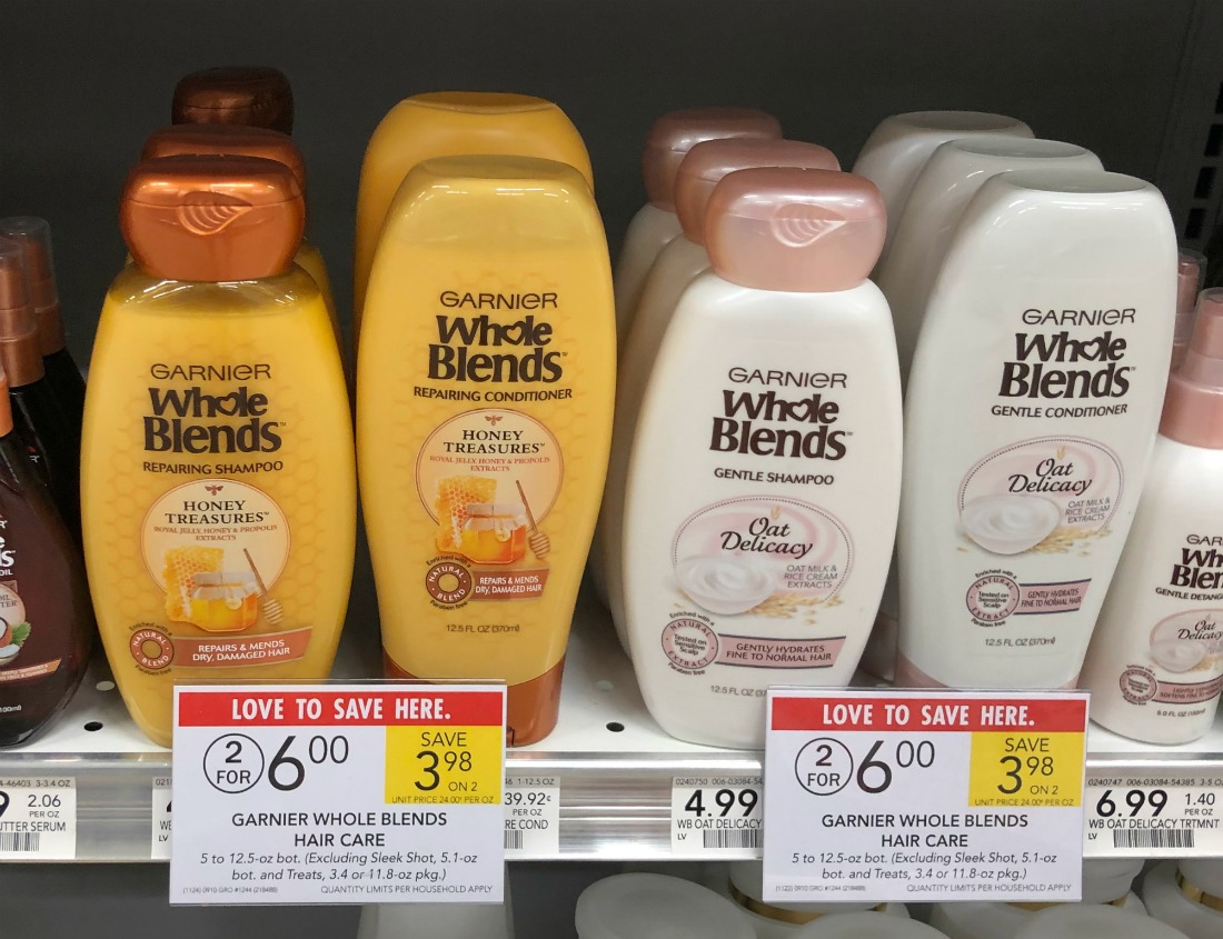 Garnier Whole Blends Haircare Only $2 At Publix (Regular Price $4.99) on I Heart Publix