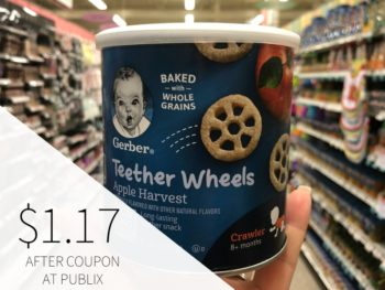 Gerber Snacks As Low As $1.17 At Publix on I Heart Publix