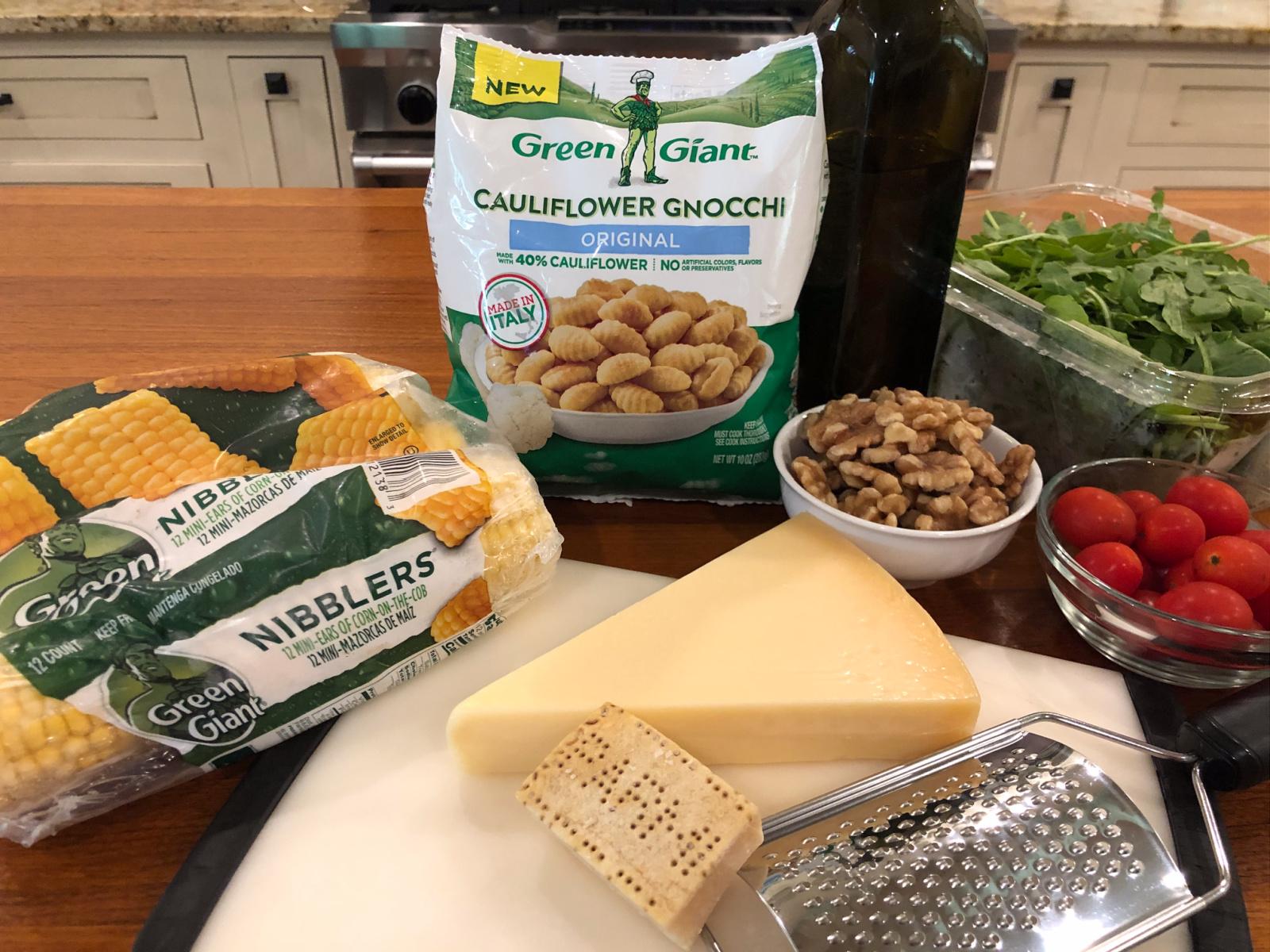 Veggie Gnocchi With Arugula Pesto & Sweet Corn on I Heart Publix