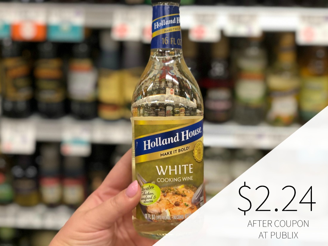Holland House Cooking Wine Just $2.24 At Publix on I Heart Publix 1