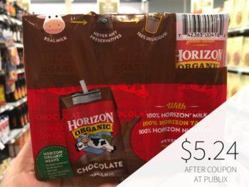 Horizon Organic Milk 6-pk Coupon For Publix Sale on I Heart Publix