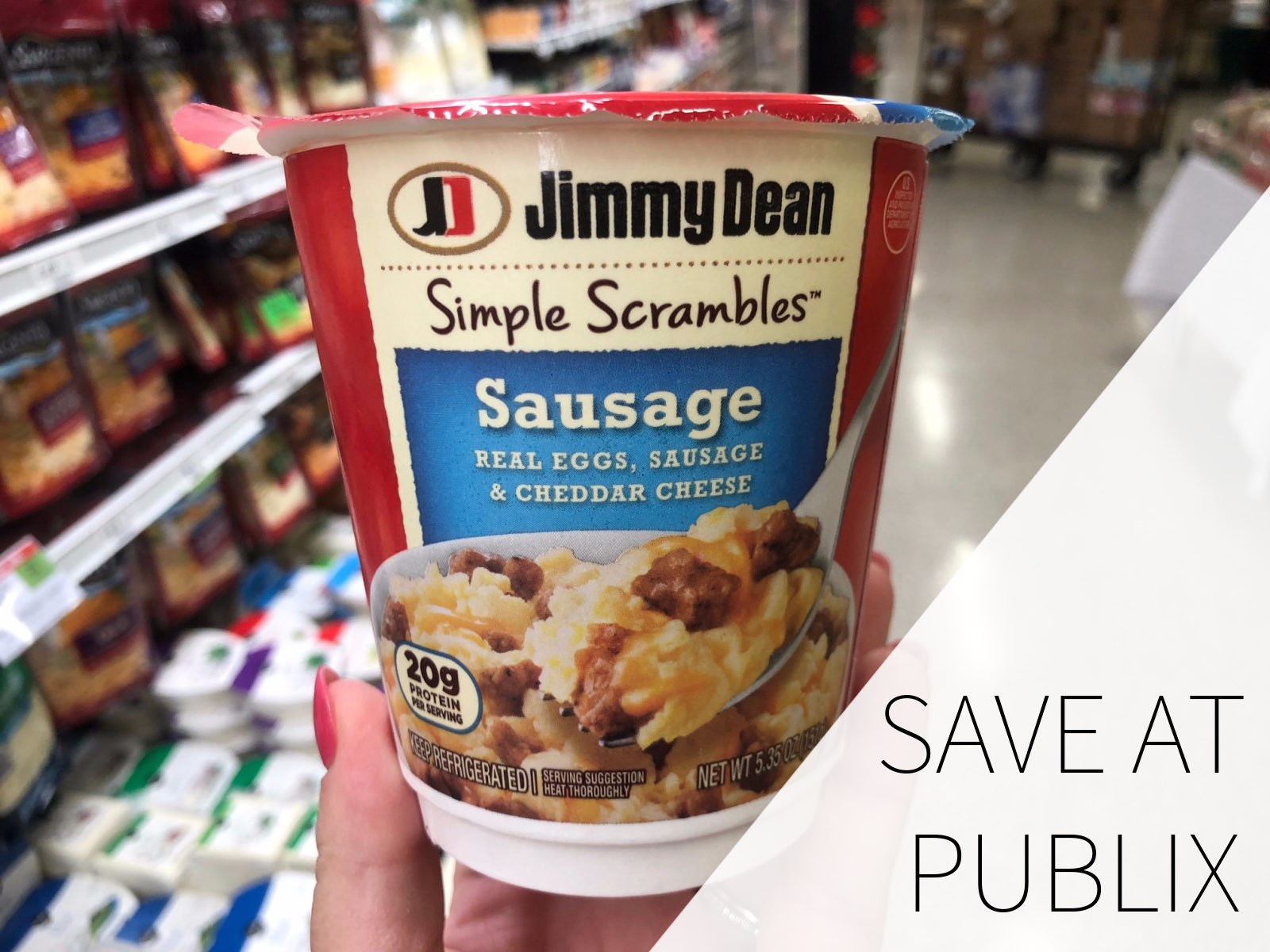 Save On Delicious & Convenient Jimmy Dean Simple Scrambles® Breakfast Cups At Publix on I Heart Publix