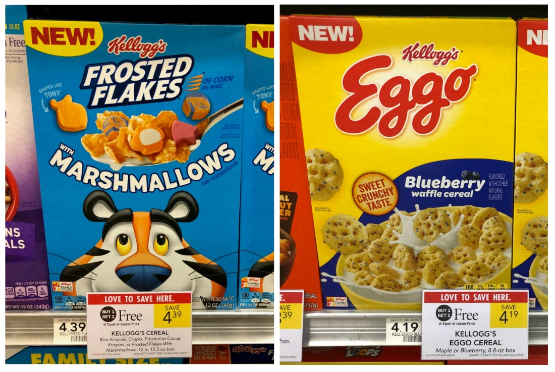 Kellogg's Frosted Flakes with Marshmallows Just 50¢ At Publix on I Heart Publix