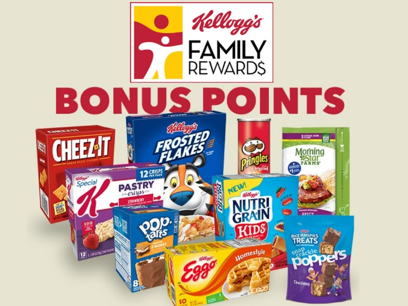 New Kellogg's Family Rewards Code - Add 100 Points To Your Account (Expires 9/30) on I Heart Publix 1