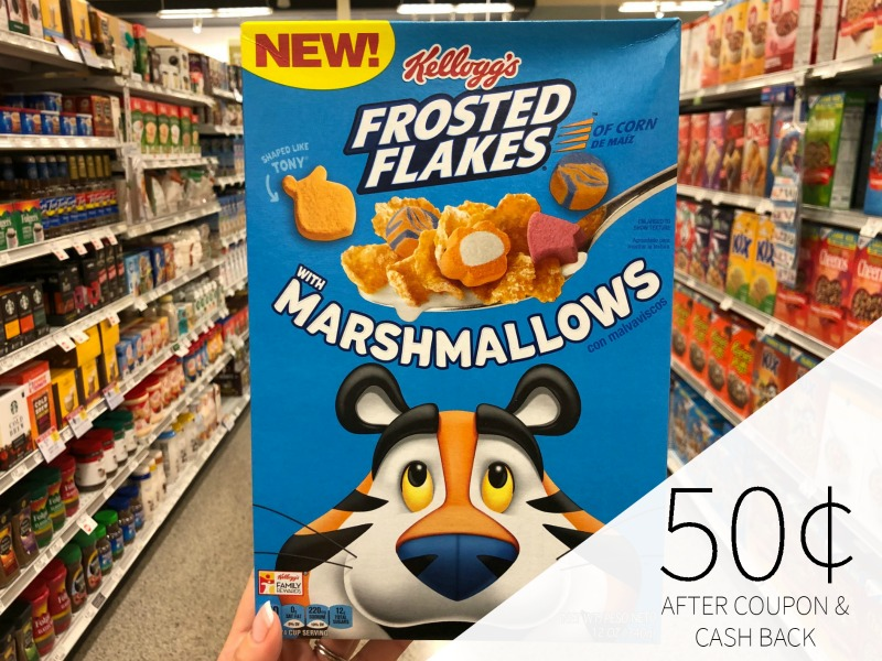 Kellogg's Frosted Flakes with Marshmallows Just 50¢ At Publix on I Heart Publix 1