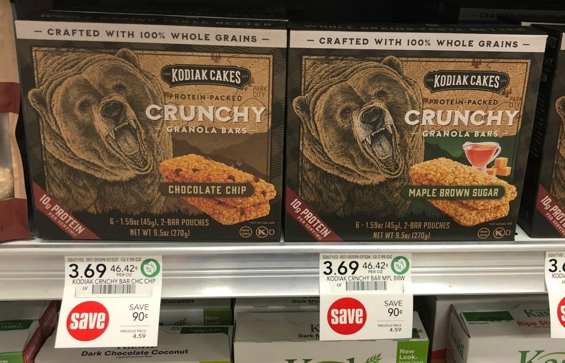 Kodiak Cakes Crunchy Granola Bars Just $2.19 At Publix (reg $4.59) on I Heart Publix