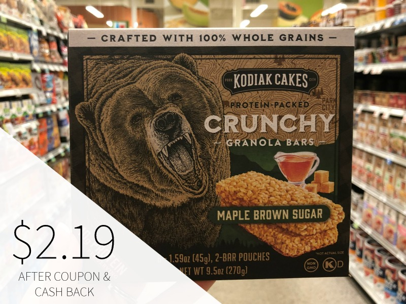 Kodiak Cakes Crunchy Granola Bars Just $2.19 At Publix (reg $4.59) on I Heart Publix 1