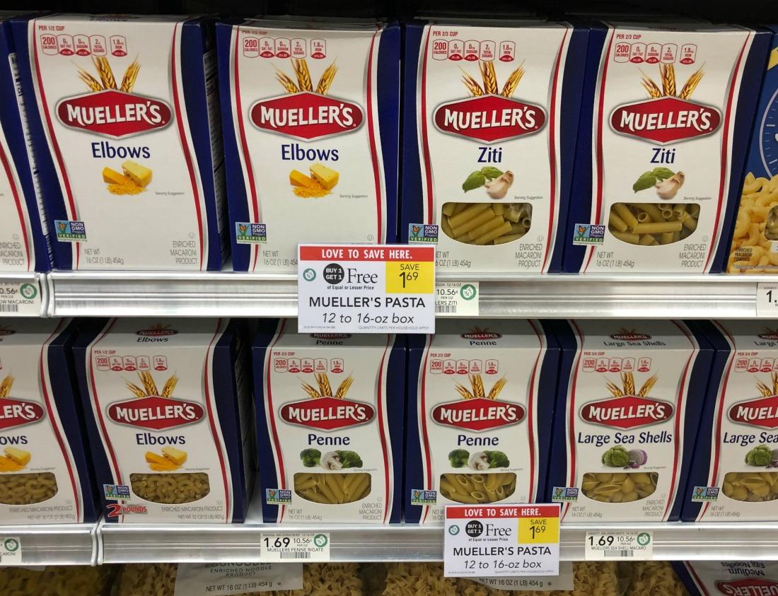 Mueller's Pasta Just 47¢ Per Box At Publix on I Heart Publix