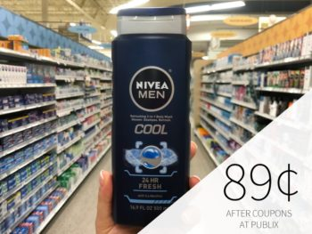 Nivea Men Body Wash Only $2.01 At Publix - Less Than Half Price on I Heart Publix 1