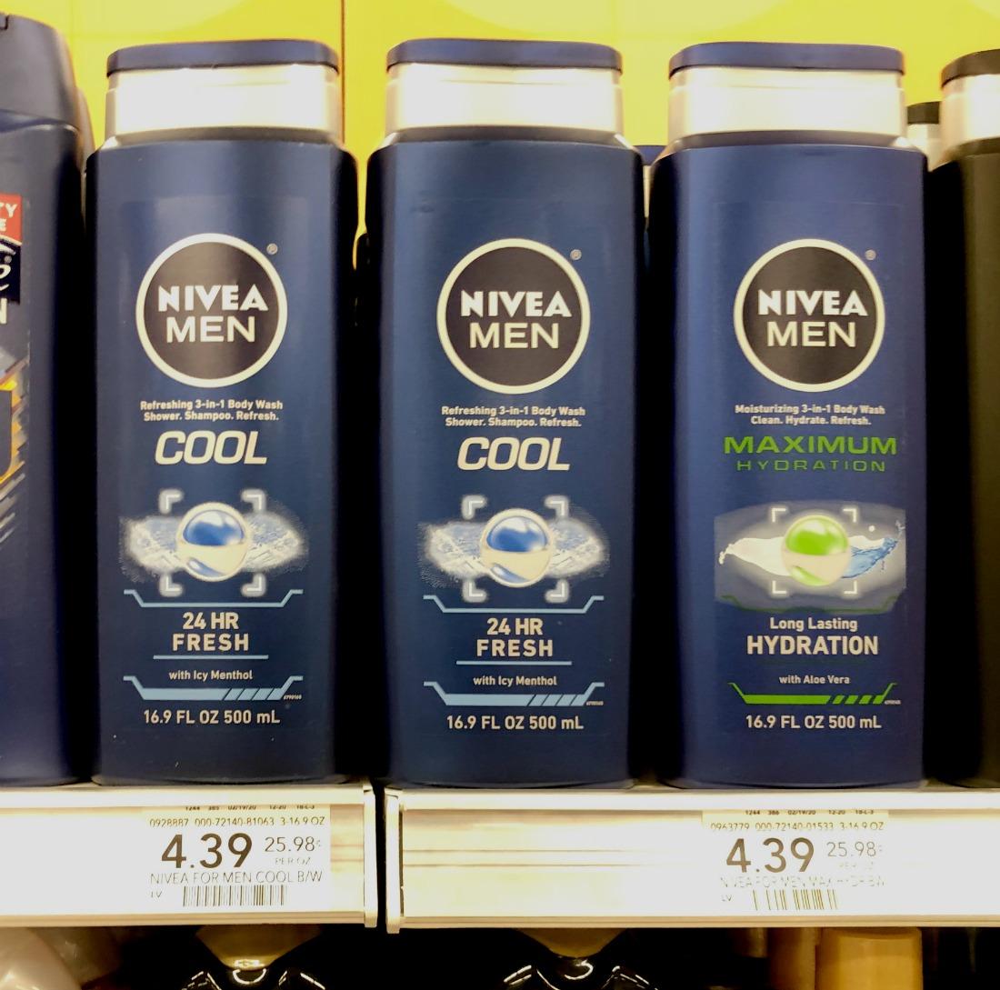 Nivea Men Body Wash Only $2.01 At Publix - Less Than Half Price on I Heart Publix