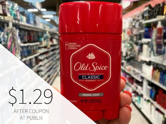 Old Spice Deodorant As Low As $1.79 At Publix on I Heart Publix 2