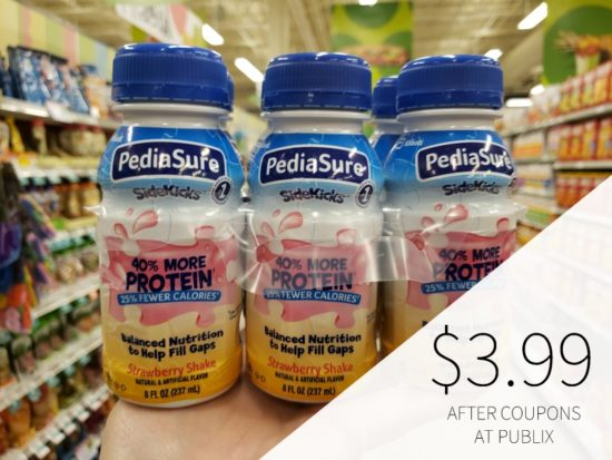 PediaSure As Low As $4.32 (Save $6.67 Per Pack!) on I Heart Publix