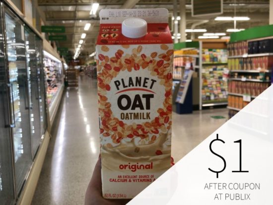 Planet Oat Oatmilk Is FREE At Publix on I Heart Publix