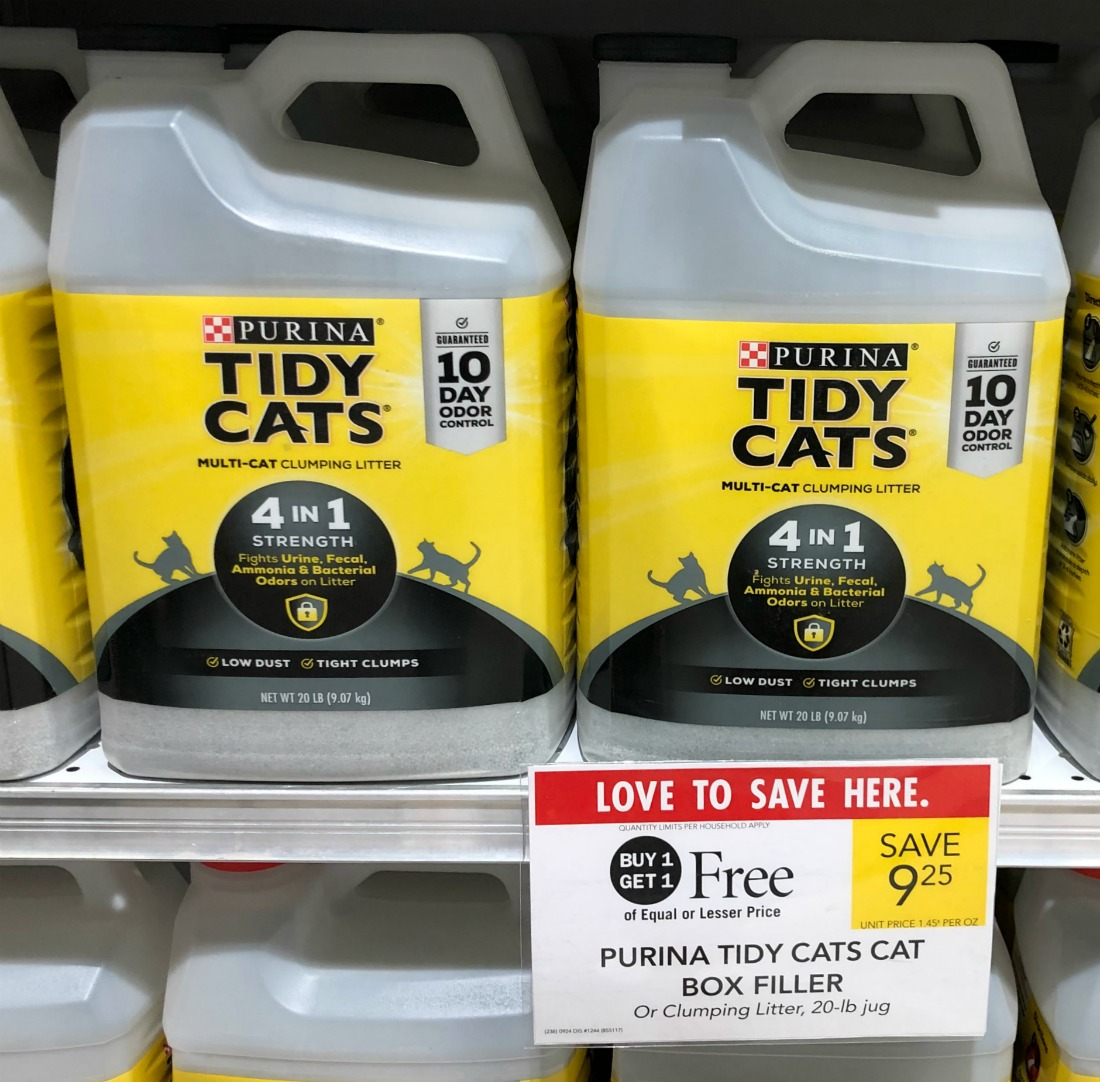 Purina Tidy Cats on I Heart Publix
