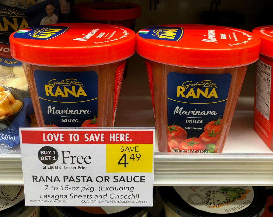 Rana Sauce Only $2.50 At Publix on I Heart Publix 4