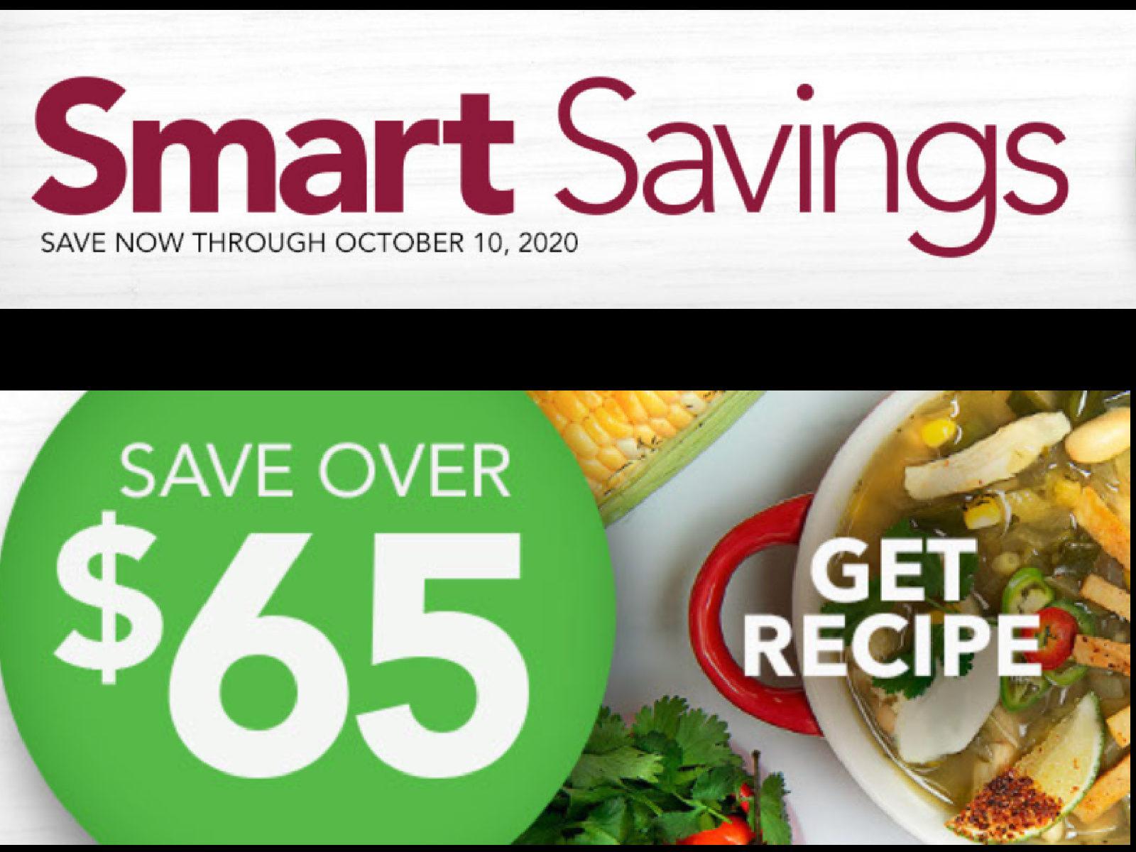 New Publix Booklet - Smart Savings Valid Through 10/10/20 on I Heart Publix