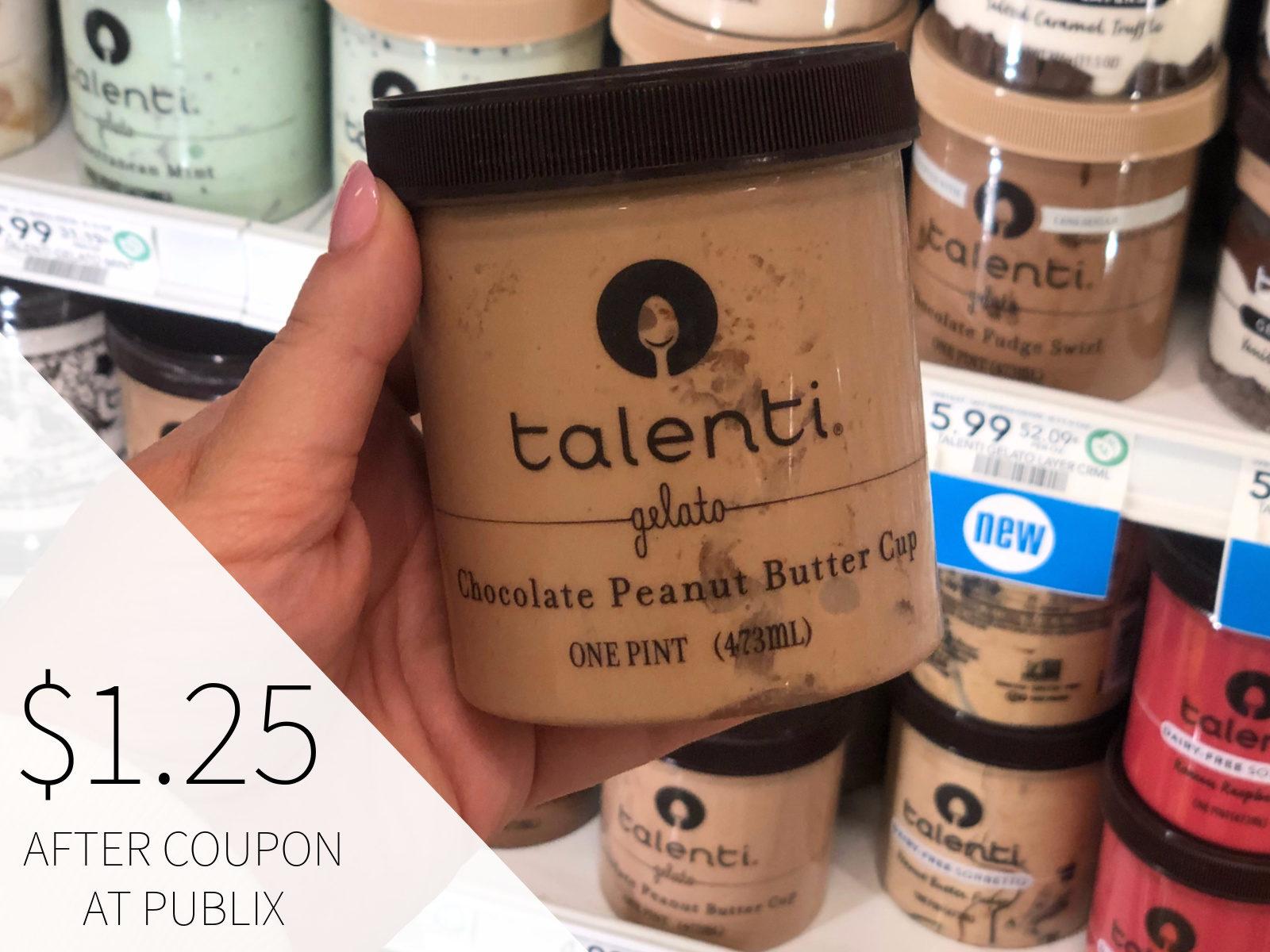 Talenti Gelato or Sorbetto Just $1.25 At Publix on I Heart Publix