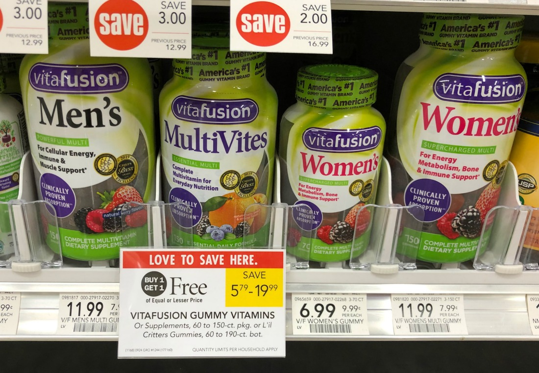 Vitafusion Gummy Vitamins As Low As $1.50 At Publix on I Heart Publix