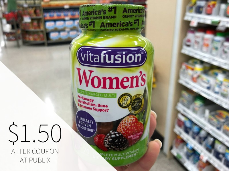 Vitafusion Gummy Vitamins As Low As $1.50 At Publix on I Heart Publix 1