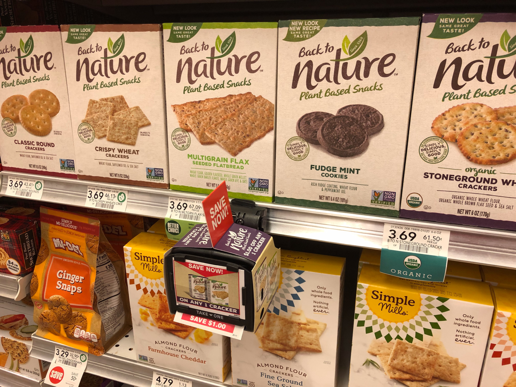 Try My Mint Chocolate Chip Cheesecake Squares & Get Savings On Back To Nature™ Snacks At Publix on I Heart Publix 1