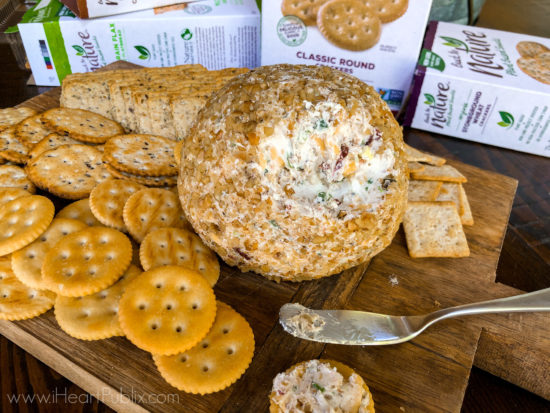 Grab Your Back To Nature™ Crackers To Enjoy With My Harvest Cheese Ball on I Heart Publix 2