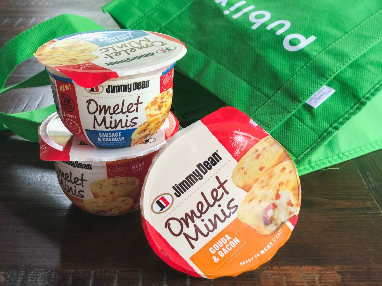 Look For New Jimmy Dean® Omelet Minis At Publix on I Heart Publix