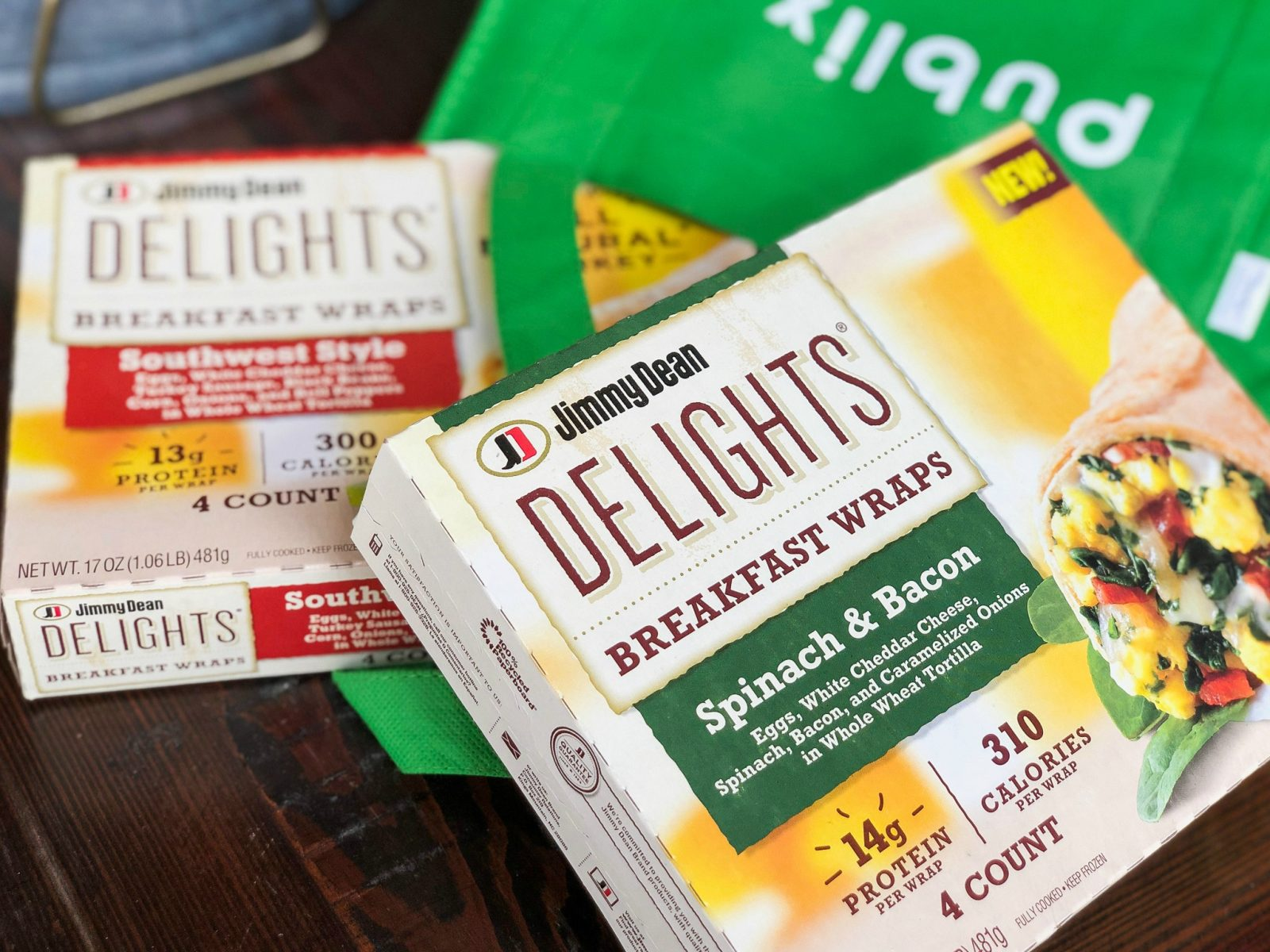 Try New Jimmy Dean Delights® Breakfast Wraps - Clip Your Coupon & Save! on I Heart Publix 1