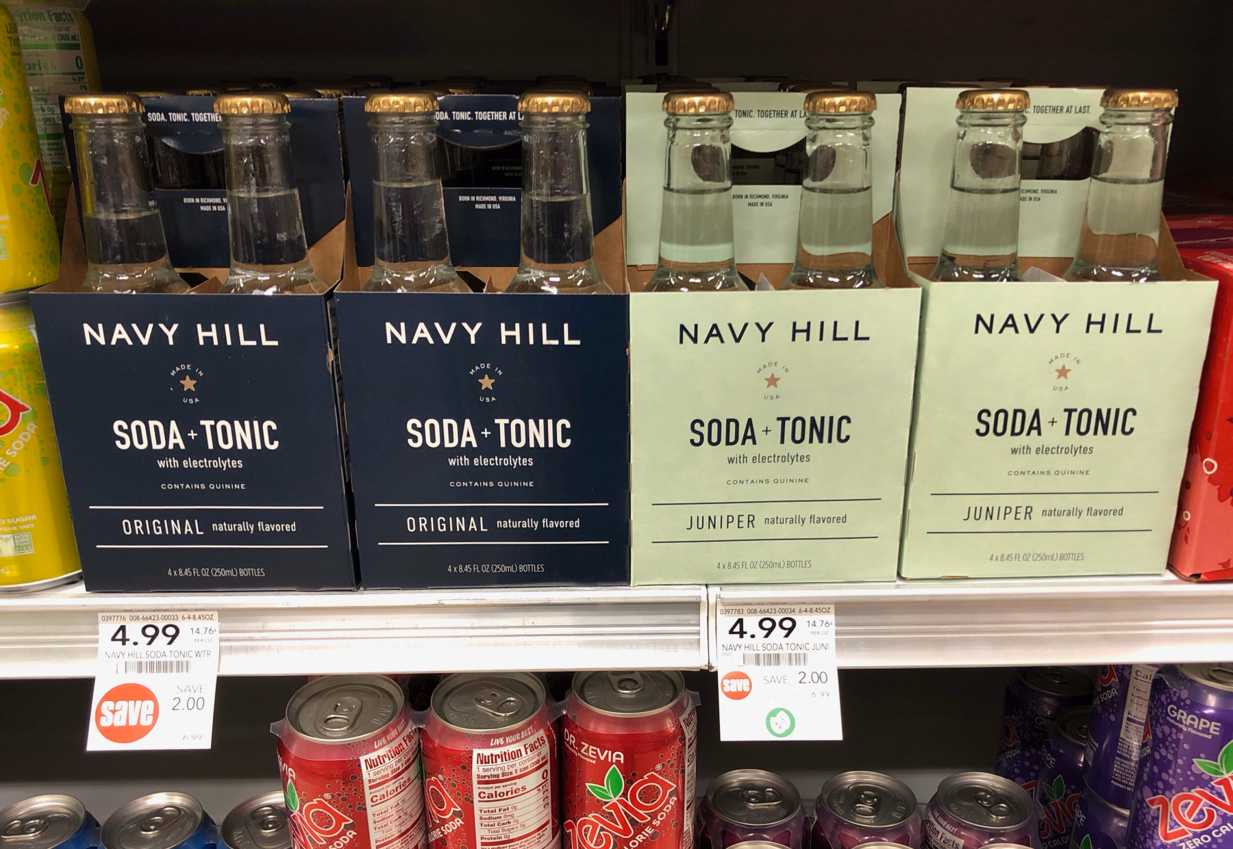 Huge Discount On Navy Hill Mixers At Publix - Save On A Delicious Soda/Tonic Blend! on I Heart Publix