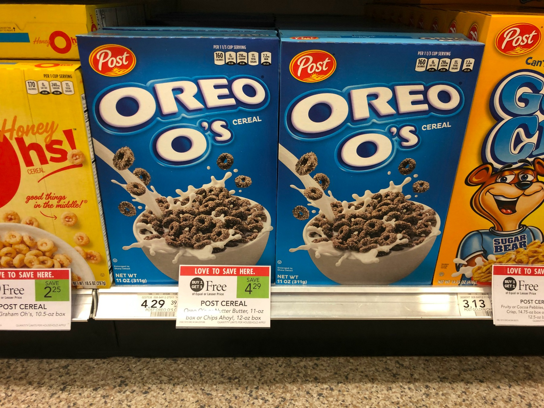 Post Oreo O's Cereal Just $1.65 At Publix on I Heart Publix 3