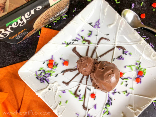 Serve Up A Fun Halloween Treat Using Breyers Ice Cream - On Sale BOGO At Publix! on I Heart Publix 4