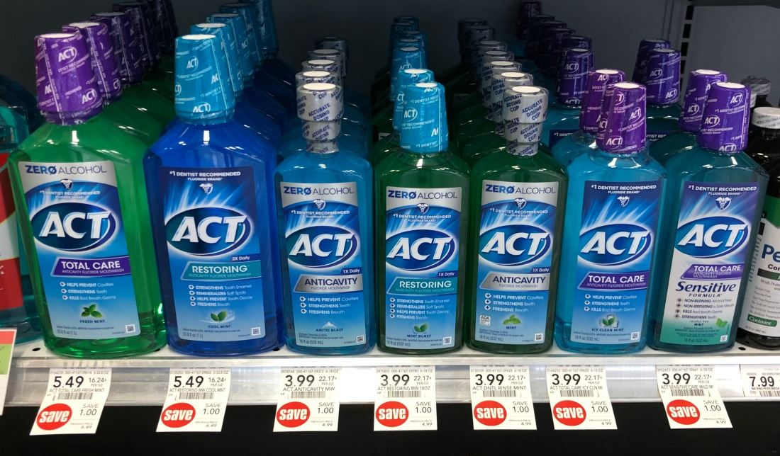 Act Kids Rinse & Act Adult Mouthwash As Low As $2.29 At Publix on I Heart Publix 2
