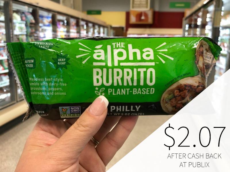 The Alpha Burrito Just $2.07 At Publix on I Heart Publix 1