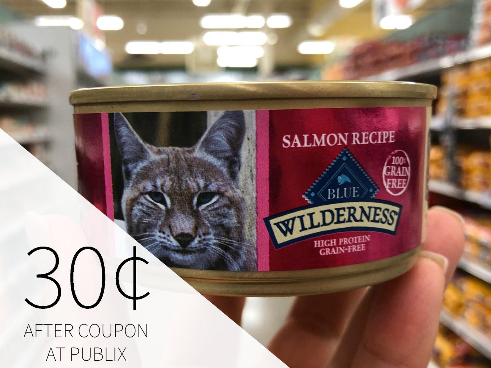 Blue Wilderness Wet Cat Food - Just 30¢ At Publix on I Heart Publix 1