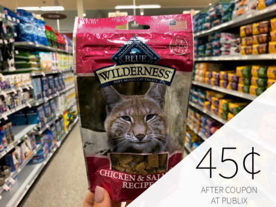 Blue Wilderness Cat Treats Only 20¢ At Publix on I Heart Publix 1