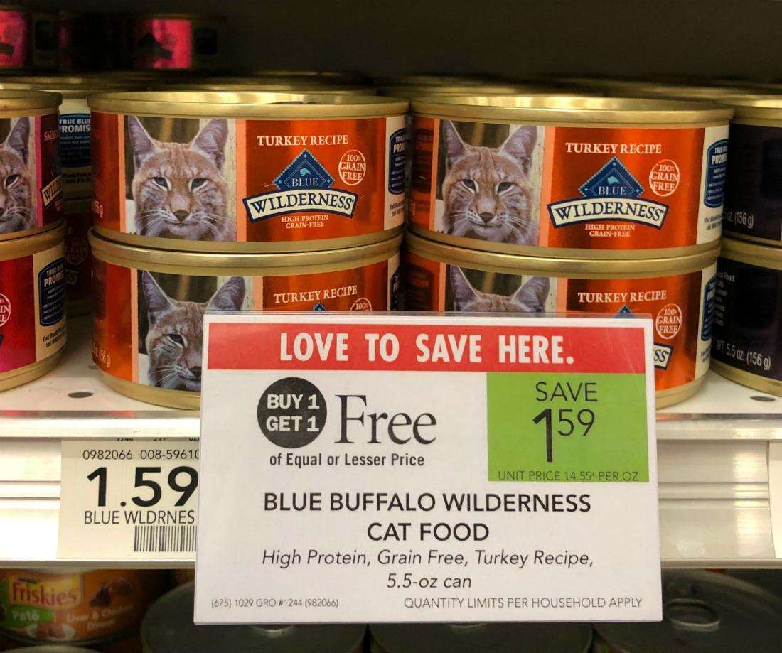 Blue Wilderness Wet Cat Food - Just 30¢ At Publix on I Heart Publix