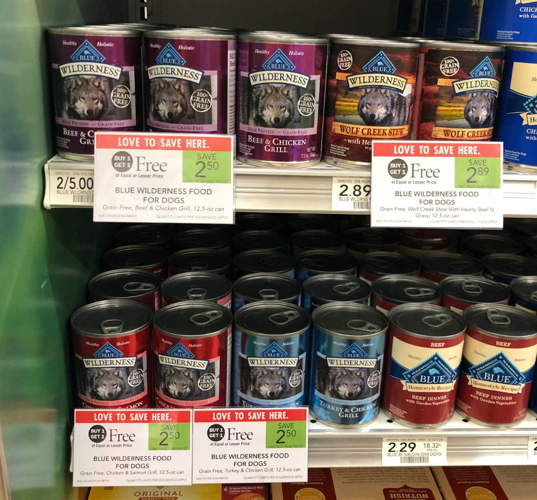 Blue Wilderness Dog Food Just 75¢ Per Can At Publix on I Heart Publix