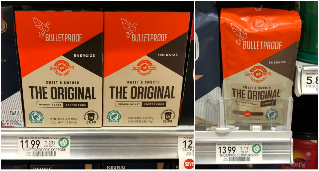 Bulletproof Coffee Pods Just $1.99 (Reg $11.99!!) on I Heart Publix