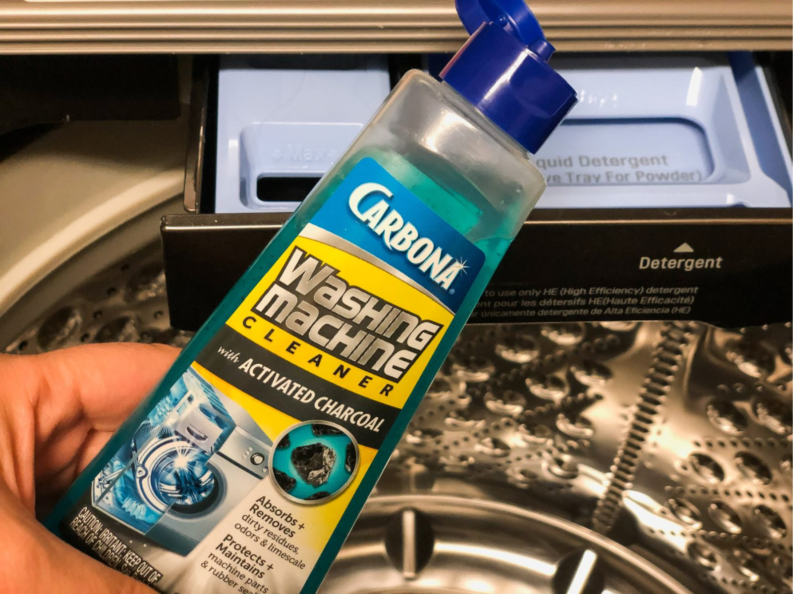 Carbona Washing Machine Cleaner As Low As 65¢ At Publix on I Heart Publix 3