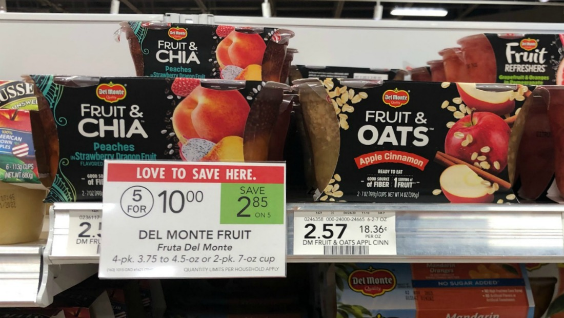 Del Monte Fruit Cups As Low As $1 Per Pack At Publix on I Heart Publix 1