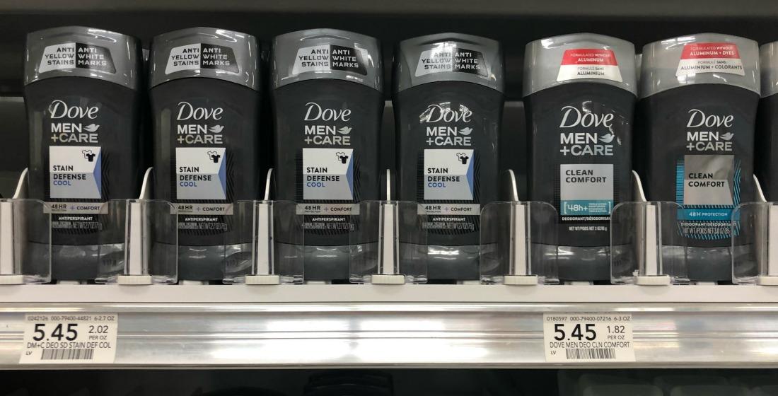 Dove Men+Care Deodorant As Low As $1.45 At Publix on I Heart Publix