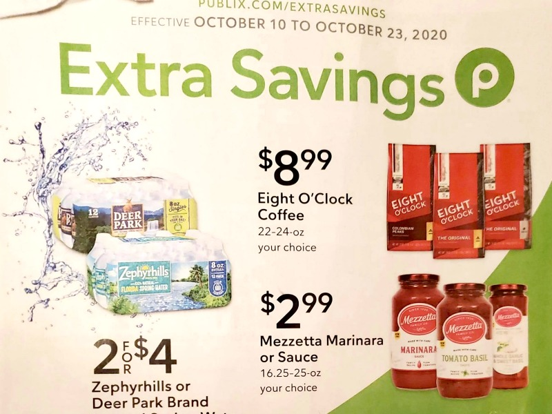 Publix Extra Savings Flyer Valid 10/10 to 10/23 on I Heart Publix