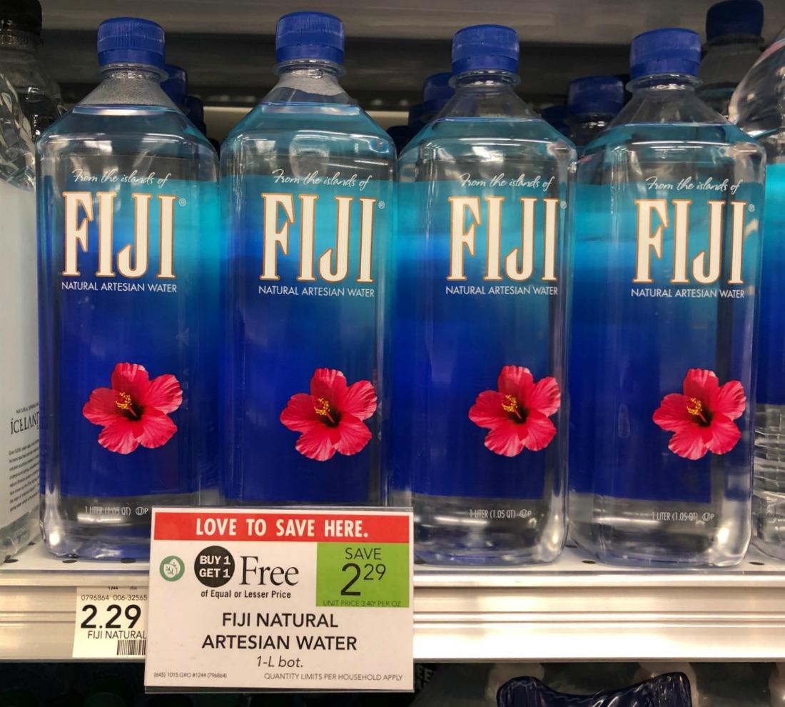 Fiji Natural Artesian Water Coupon For Publix BOGO - Just 65¢ Per Bottle on I Heart Publix